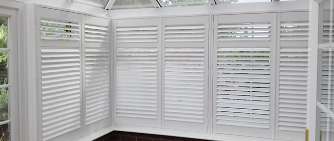 PVC Shutters In South East Essex